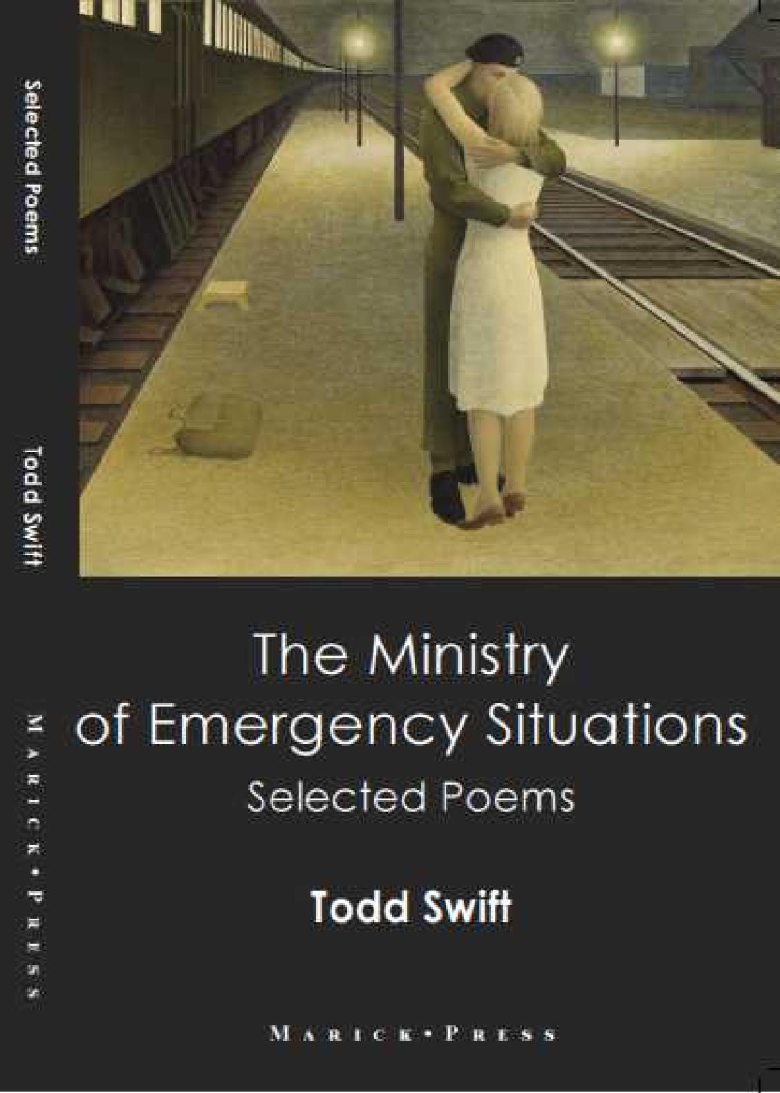 Todd Swift - The Ministry of Emergency Situations